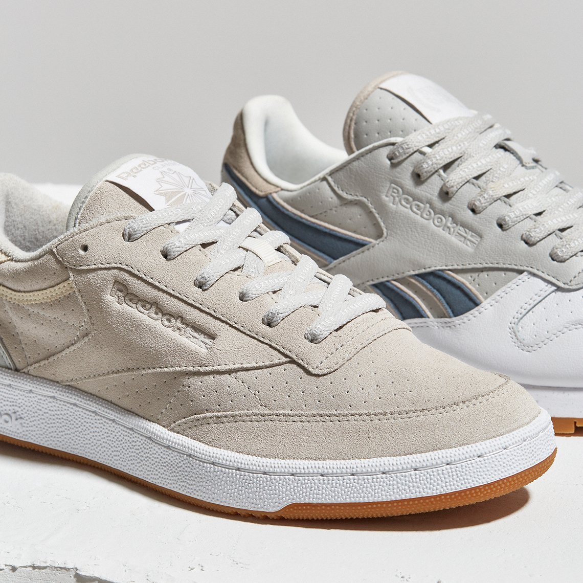 extra butter x reebok club c classic leather for urabn. Black Bedroom Furniture Sets. Home Design Ideas