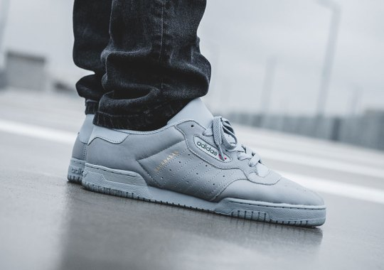 Store List For The Grey adidas YEEZY Powerphase Calabasas
