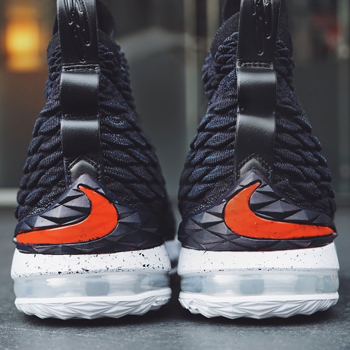 2d5d4fcdf5a Quavo Gifts His High School With Custom Nike LeBron 15 By Mache ...