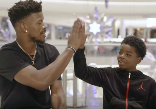 Jimmy Butler Stars In New Kids Foot Locker Ad About Moving To New Cities
