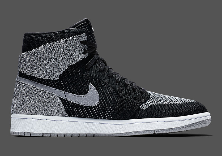 f839a44ea3ce6 Air Jordan 1 Flyknit Shadow Grey 919704-003