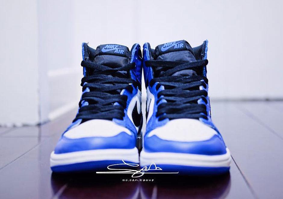 Nike Air Jordan 1 Juego Real 4JrWH