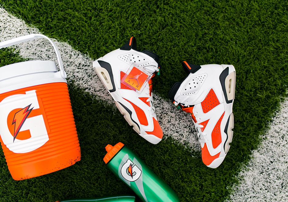 "040c8314e4d Update  The Air Jordan 6 ""Gatorade"" is available now via Nike+ Early Access."
