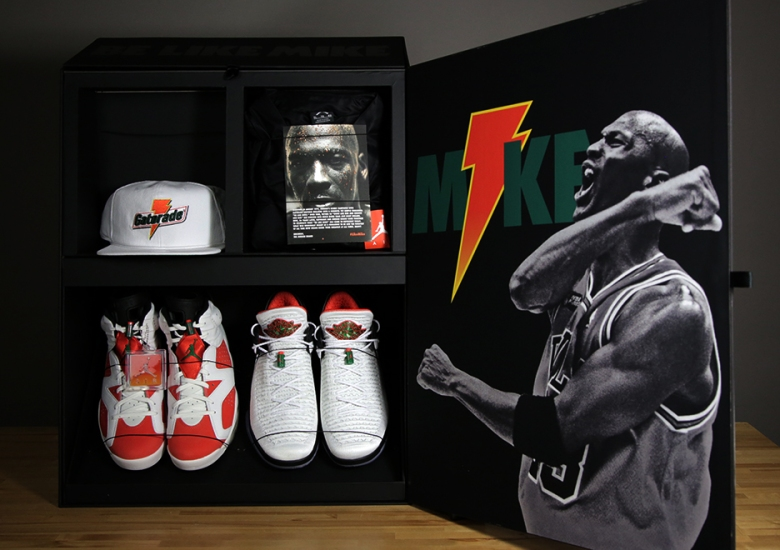 "19e23ade279 Jordan Brand Commemorates ""Be Like Mike"" Collection With Friends   Family  Promo Box"