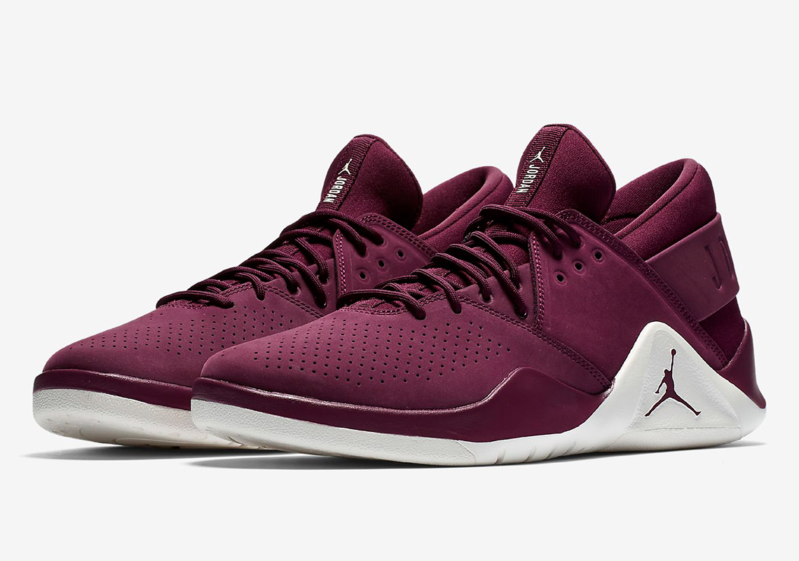 912276b2d0a The Jordan Flight Fresh Premium Appears In Wheat And Bordeaux ...