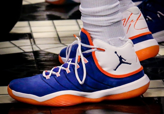 Tim Hardaway Jr. Appears In A Knicks-Themed Jordan Super.Fly 2017 PE