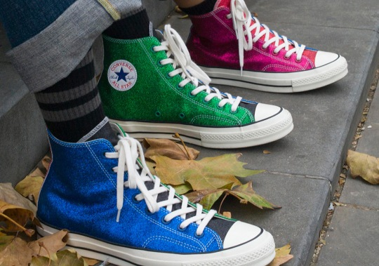 "J.W. Anderson Continues Converse Partnership With Second ""Glitter Gutter"" Collection"