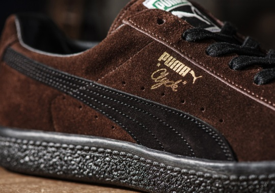 Japan's Kicks Lab Dresses Up The Puma Clyde In Brown Suede