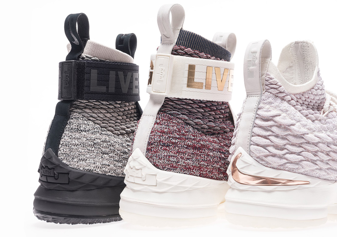 KITH Reveals Collaboration With LeBron James And The Nike LeBron 15