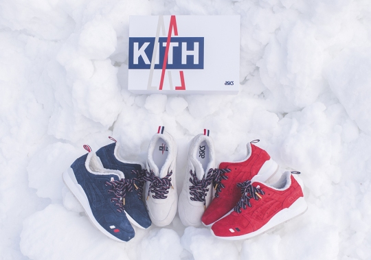KITH x Moncler x ASICS GEL Lyte III Collection Releases This Weekend