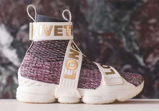 competitive price fc3cd 35c22 Ronnie Fieg Reveals Strap Styles Of The KITH x Nike LeBron 15 Lifestyle