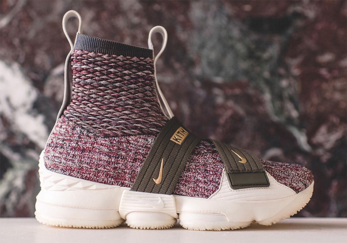 sale retailer e9546 79f58 KITH Nike LeBron 15 Lifestyle | SneakerNews.com