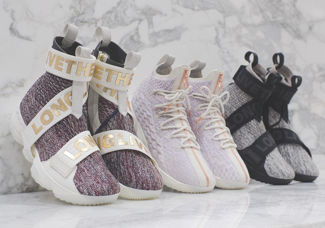 KITH Nike LeBron 15 Release Date