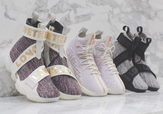 KITH x Nike LeBron 15 Collection Releases On December 30th
