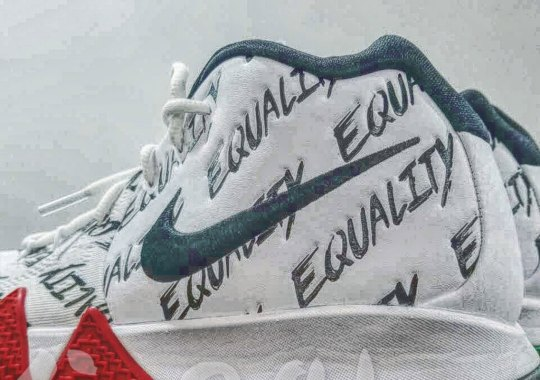 """Nike Kyrie 4 """"Equality"""" To Release As Part Of Upcoming BHM Collection"""