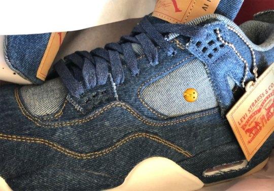 The Levi's x Air Jordan 4 In Denim Will Be $225