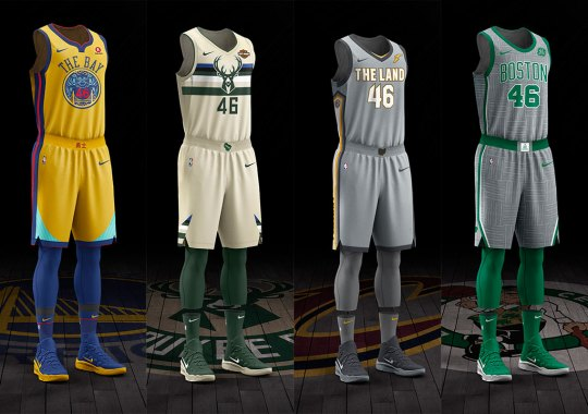 Nike Unveils City Edition NBA Uniforms