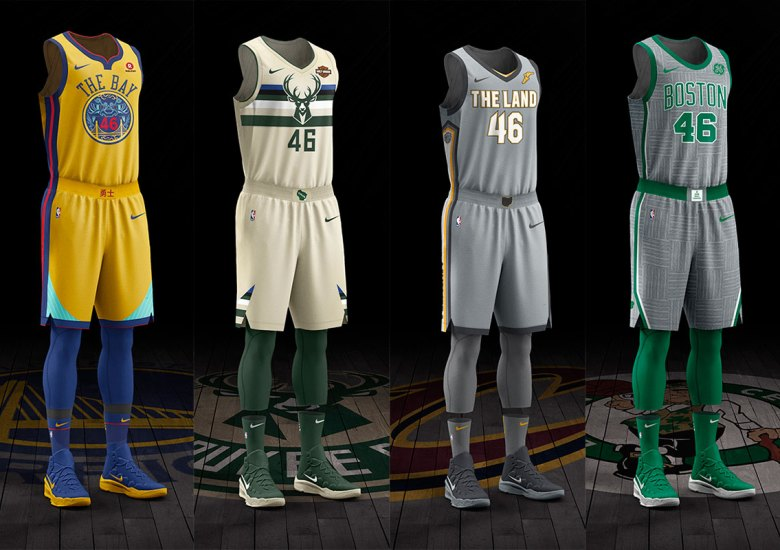 1721e7cb008 Nike Unveils City Edition NBA Uniforms
