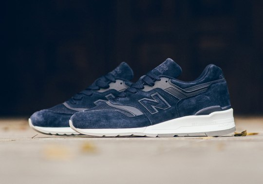 New Balance Drops The 997 In Tonal Navy Uppers