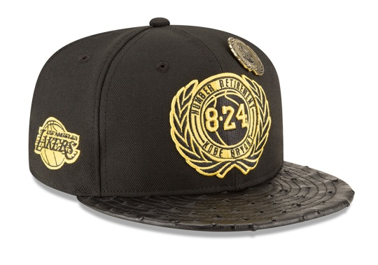 New Era To Release A $5,824.08 Fitted Hat To Honor Kobe Bryant's Jersey Retirement
