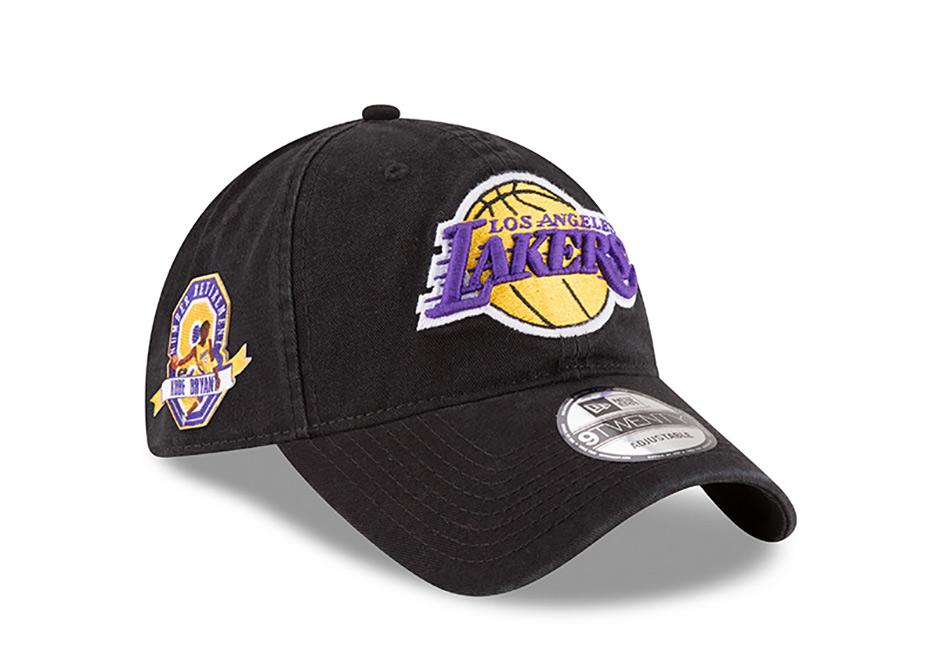 New Era Kobe Bryant Jersey Retirement Hat 8 024