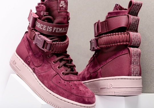 Nike Adds Premium Suede To The SF-AF1 Force Is Female