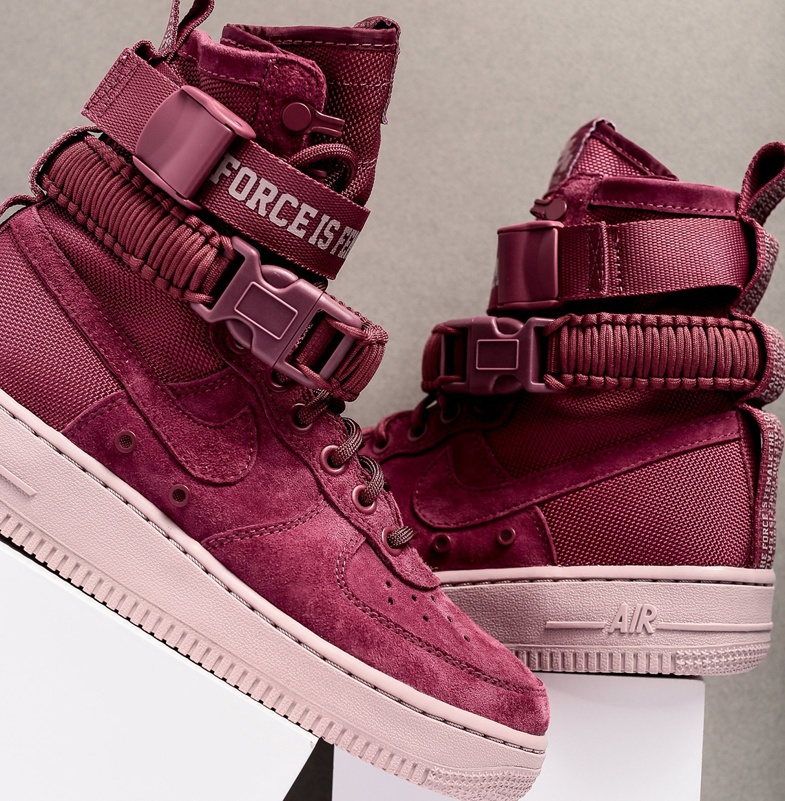 the best attitude c504c ec043 Nike SF-AF1 Force is Female WMNS AJ1700-600 Available Now ...