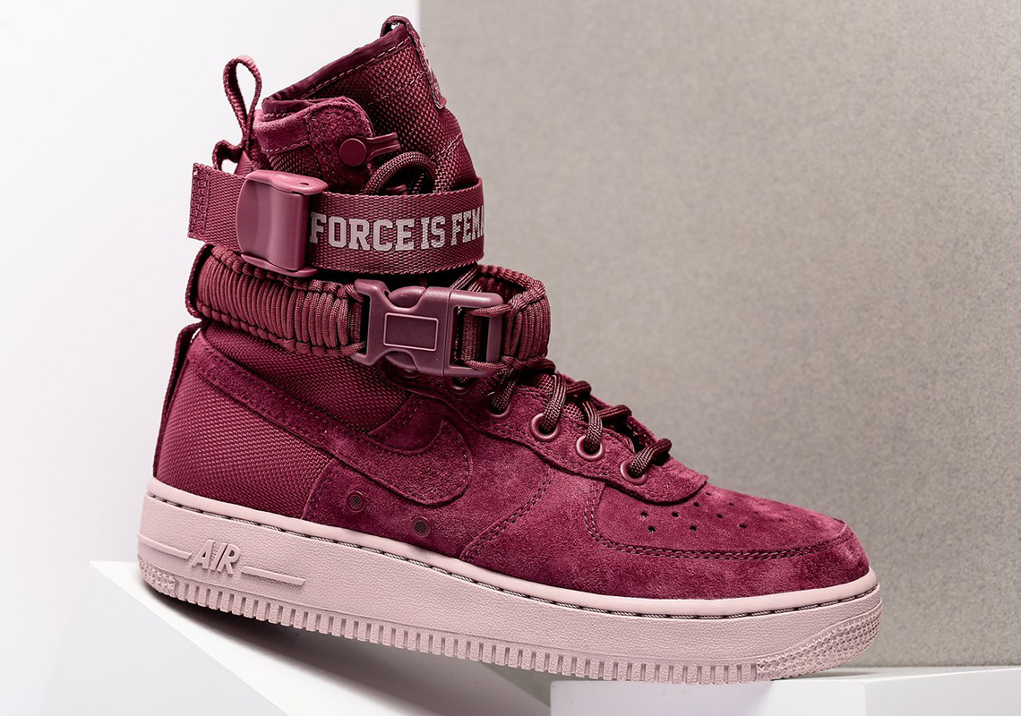 6557600b28130 Nike SF-AF1 Force is Female WMNS AJ1700-600 Available Now ...