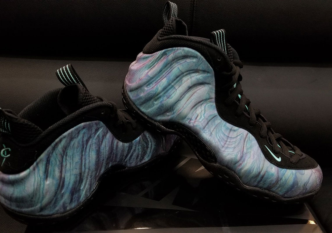 22a7a976 Nike Air Foamposite One Abalone Release Date + Photos | SneakerNews.com