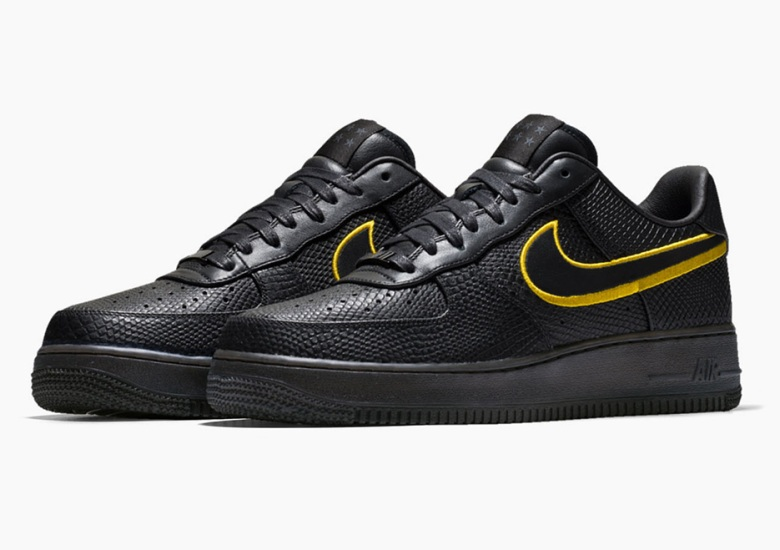 5a25221f4940 Nike Honors Kobe Bryant s Jersey Retirement With Special Air Force 1 iD