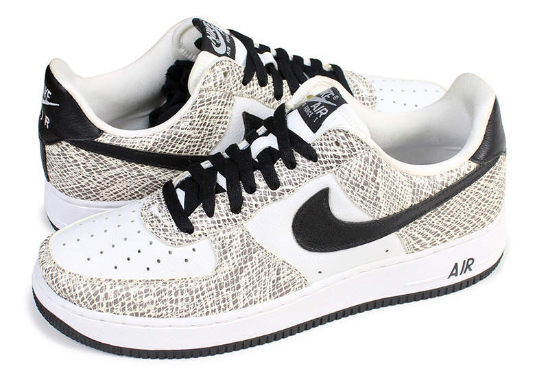 Nike Air Force 1 Bajo Release Cacao Snake 845053 104 Release Bajo Info a480fd