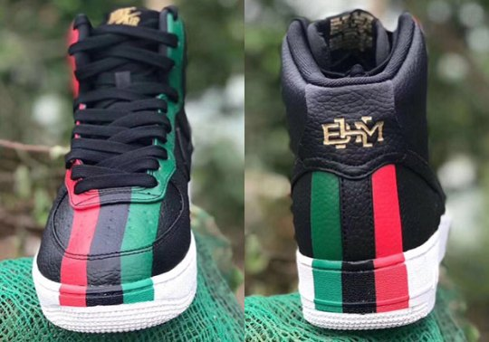 Upcoming Nike Air Force 1 High BHM Boldly Presents Pan-African Colors