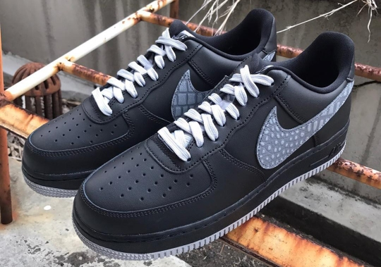 Nike's Croc Print Comes Back On The Air Force 1