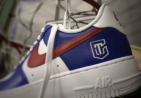 A Nike Air Force 1 PE For Chinese Taipei Appears