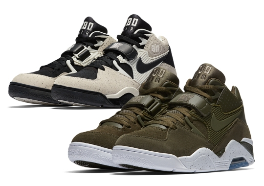 save off 963ef 74a25 The Nike Air Force 180 Is Returning In Olive and Khaki Colorways