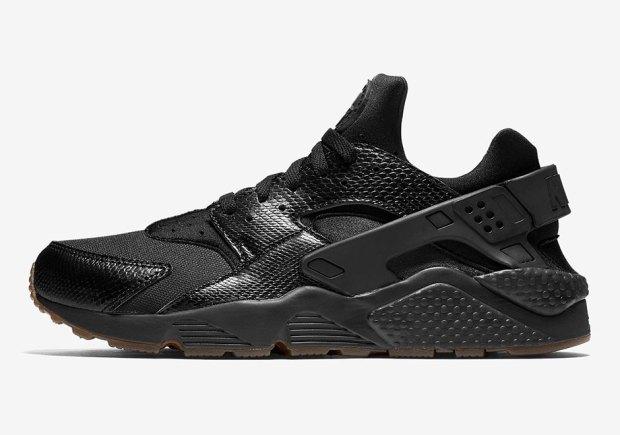 factory price 4d50b 86b08 Nike Air Huarache Snakeskin Black Gum Release Details + ...
