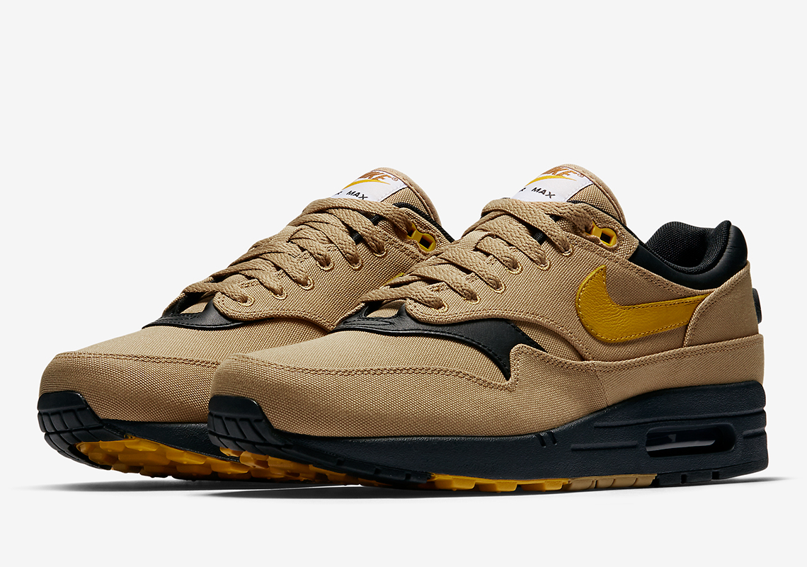on sale b1fd6 82dcc Nike Air Max 1. Release Date January 11, 2018. Color Elemental  GoldMineral Yellow-Black