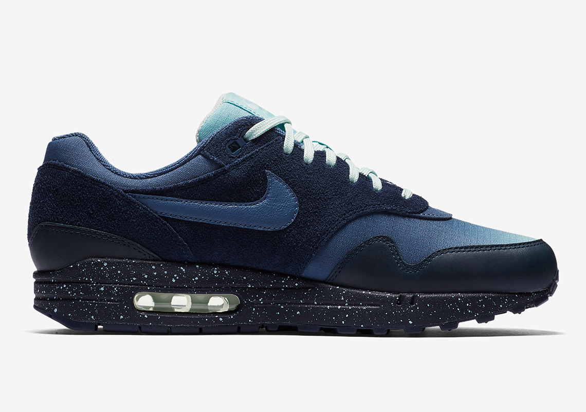 the best attitude eb8fb 70723 Nike Air Max 1. AVAILABLE AT Nike 130. Color ObsidianOcean BlissBarely  GreyDiffused Blue