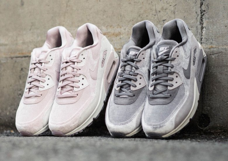156ac0b2e208 Nike Air Max 90 Deluxe Offers Two Soft Suede Tones For Women