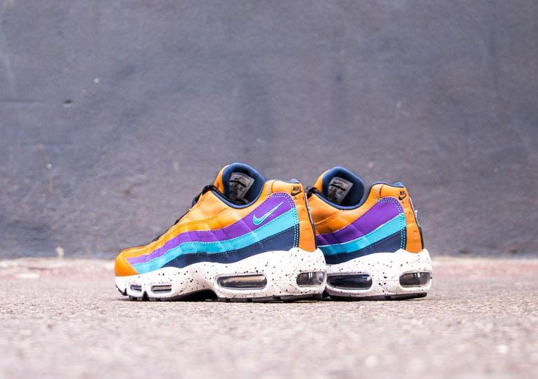 Nike Air Max 95 Colore Grigio Viola hYuFwo