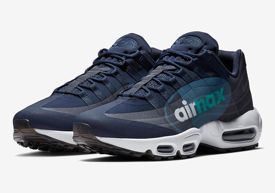 "ad4be5ae546f5 The Nike Air Max 95 NS Big Logo Channels The OG ""Slate"" Colorway"