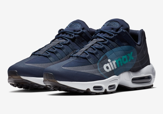 "The Nike Air Max 95 NS Big Logo Channels The OG ""Slate"" Colorway"