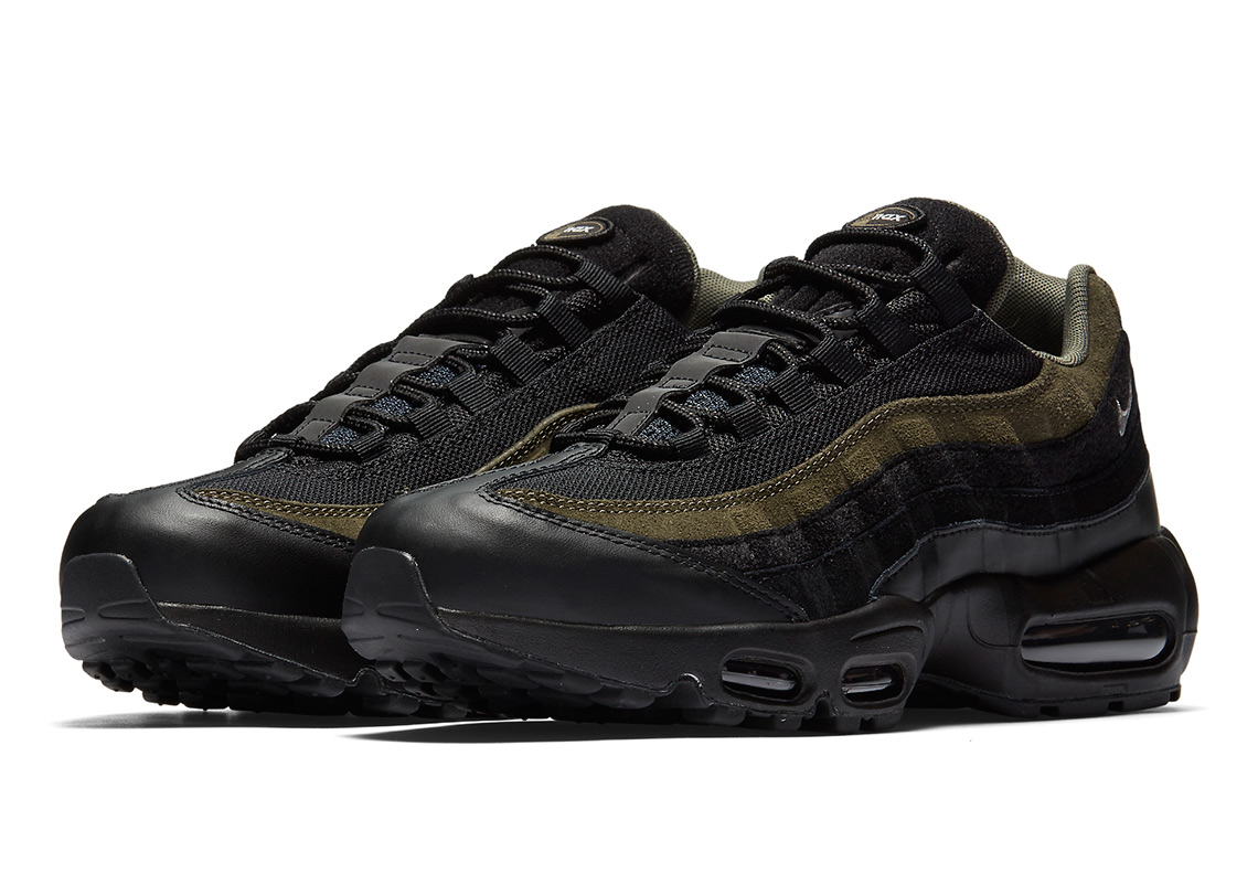 differently b5a55 ede1e Nike Air Max 90 HAL Release Date: February 1st, 2018. Color: Black/Black-Medium  Olive-Flat Silver Style Code: AH9974-002