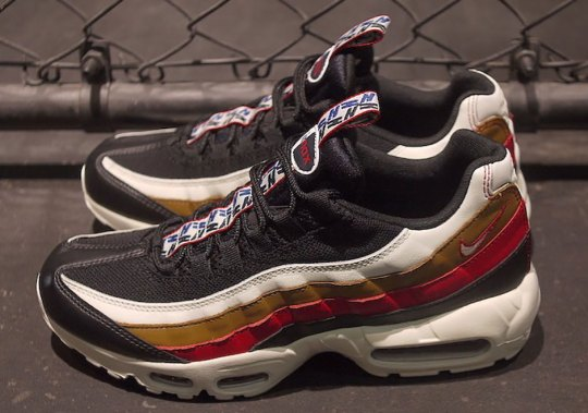"""Nike Air Max 95 """"Pull Tab"""" Features A Mix Of Navy, Red, And Brown"""