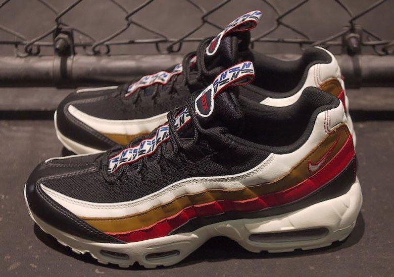 Nike Air Max 95 Pull Tab Navy Red Brown Release Date + Official ... bc28498499