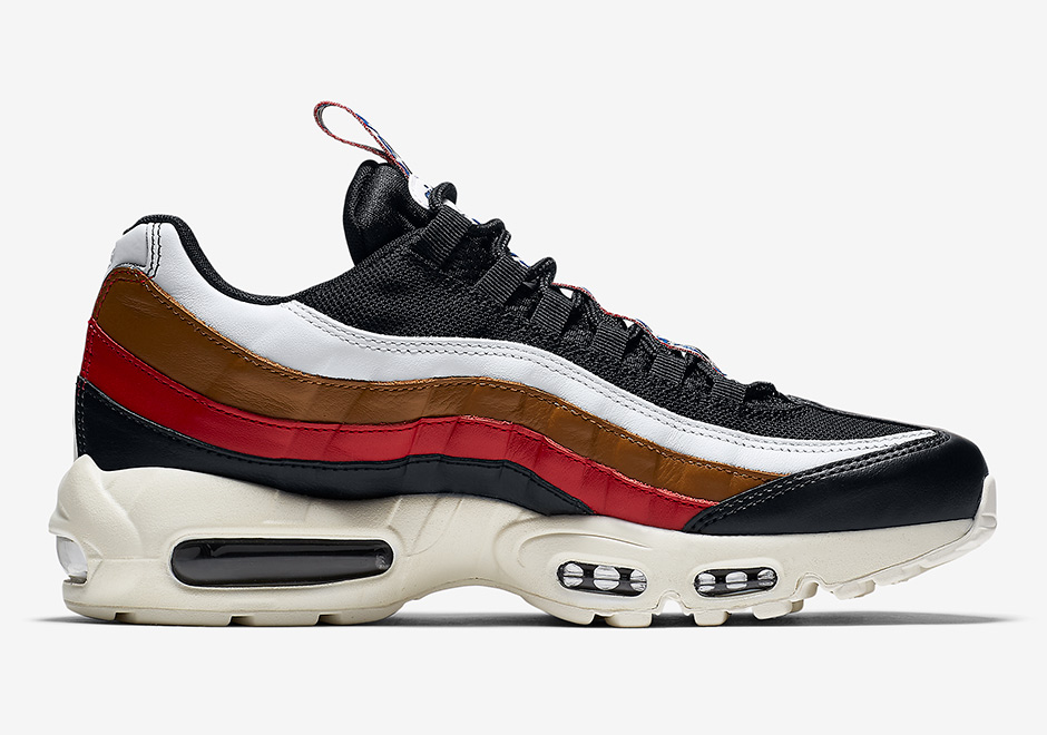 cheap for discount c52ed f7de1 Nike Air Max 95 Pull Tab Navy Red Brown Release Date + Official ...