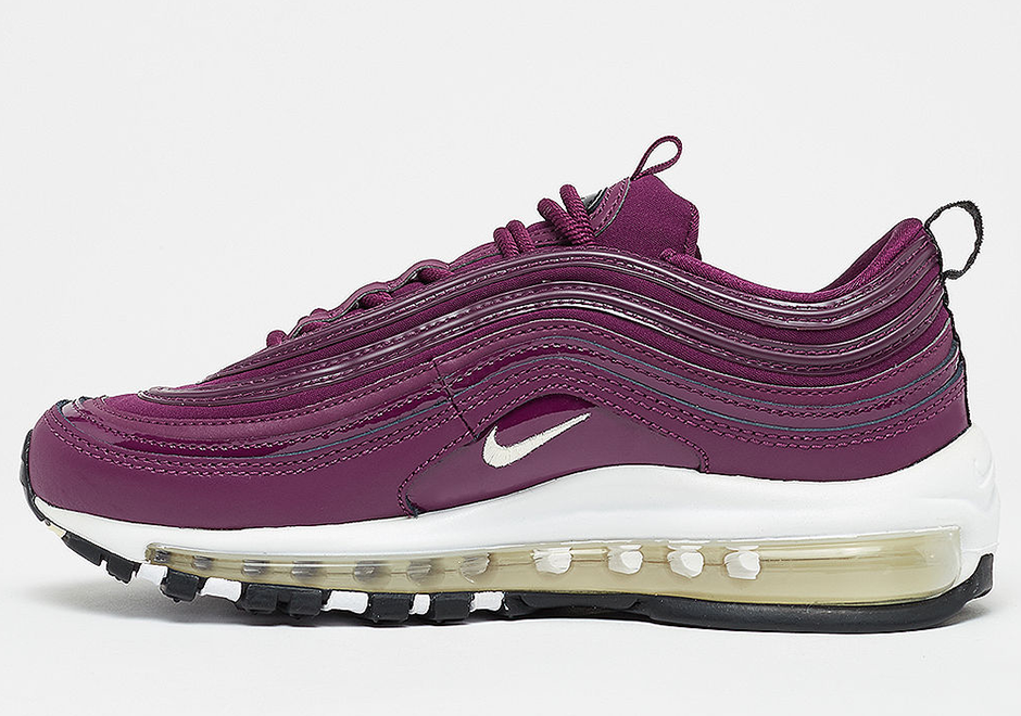 Nike Air Max 97 Bordeaux 917646 601 Women's Running Shoes Sneakers