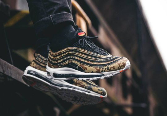 """Germany's Nike Air Max 97 """"Country Camo"""" Releases Online On December 28th"""