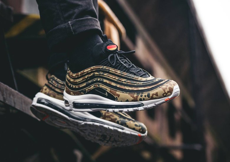 """sale retailer 21b6f b001e Germany s Nike Air Max 97 """"Country Camo"""" Releases Online On December 28th"""