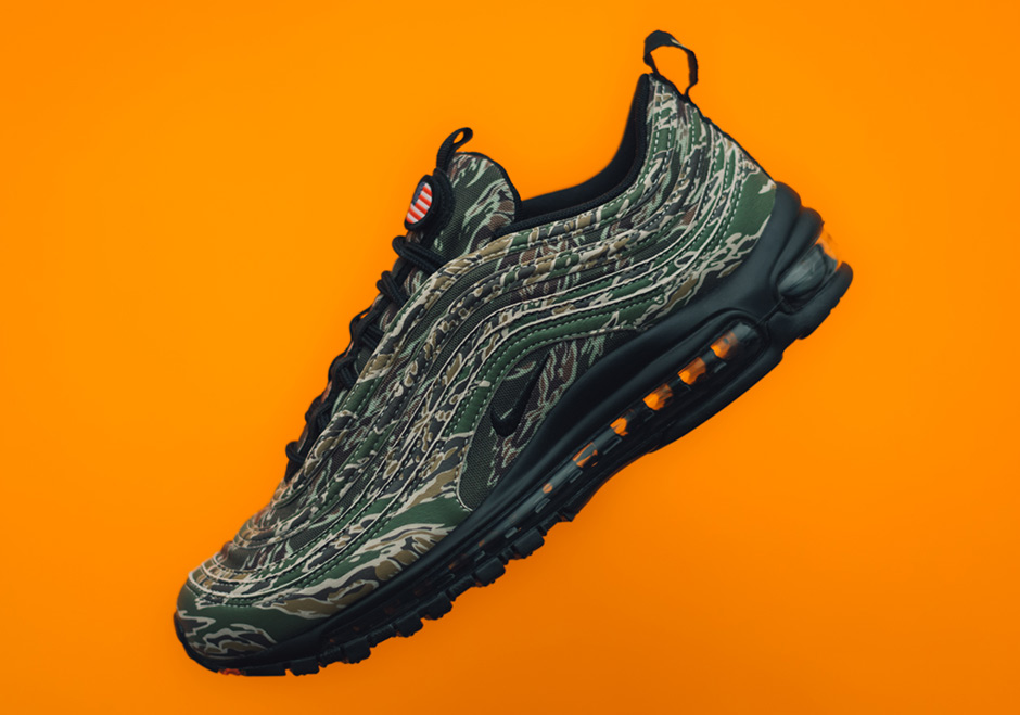 "The Nike Air Max 97 ""Country Camo"" USA Drops On December 21st"